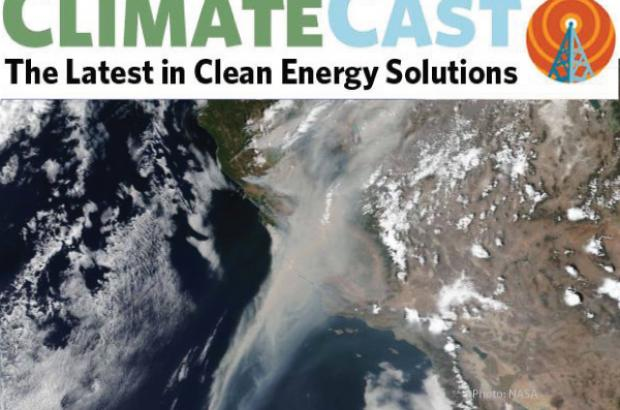 Climate cast header graphic