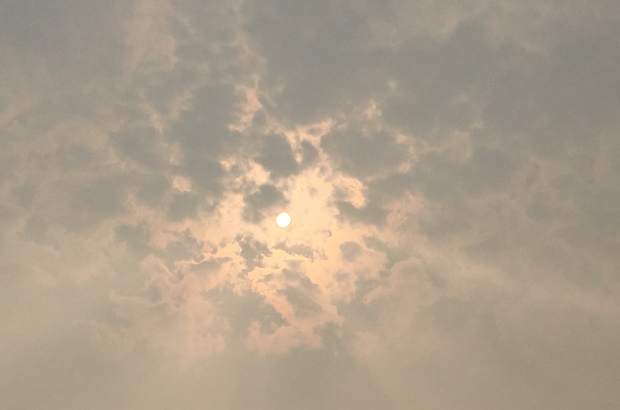 Photo of smoky sky