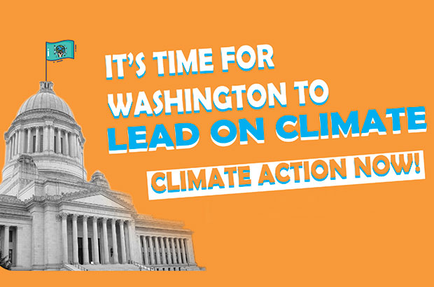 Climate action now in Washington