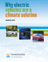 Why EVs are a Climate Solution report cover