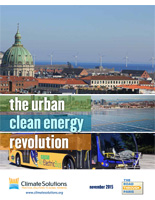 The Urban Clean Energy Revolution report cover