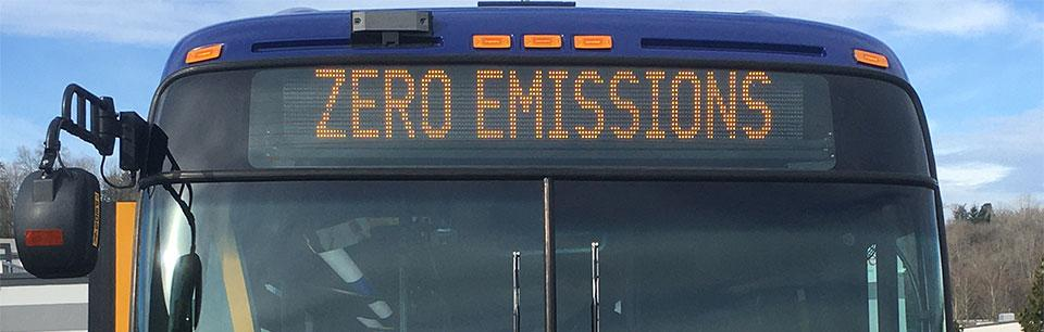 Zero emissions bus in Seattle