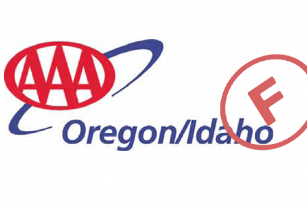 AAA of Oregon and Idaho gets an F on Climate