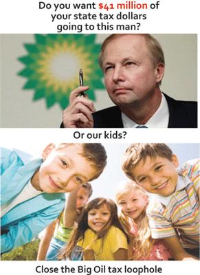 Close the big oil tax loophole