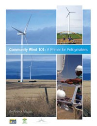 Community Wind 101 report