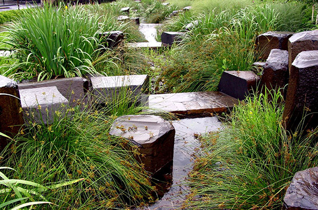 Oregon Convention Center Stormwater Wetland. Photo by Mike Houck