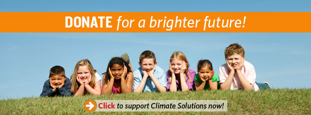 Donate banner with button
