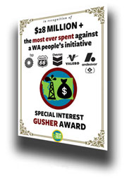Gusher award - oblique