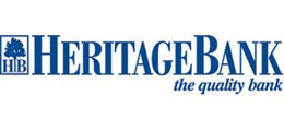 Heritage Bank sponsor logo