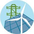 Clean power icon 120