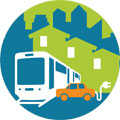 Urban clean energy icon 120