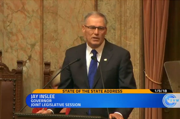 Gov. Inslee State of the State address 2018