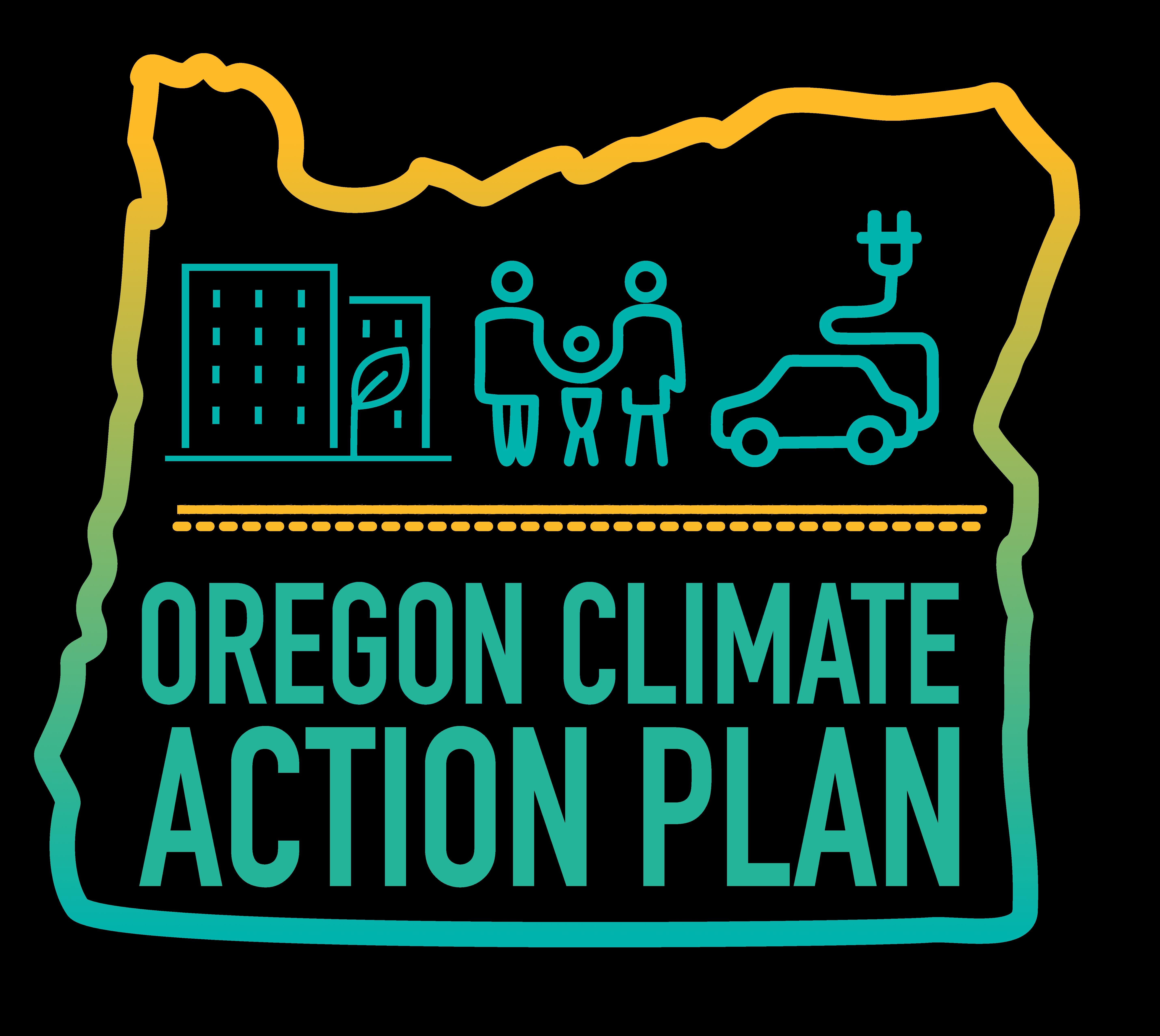 logo for Oregon Climate Action Plan (OCAP)