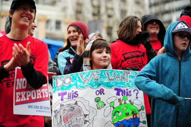 People's coal hearing, Portland, March 2014