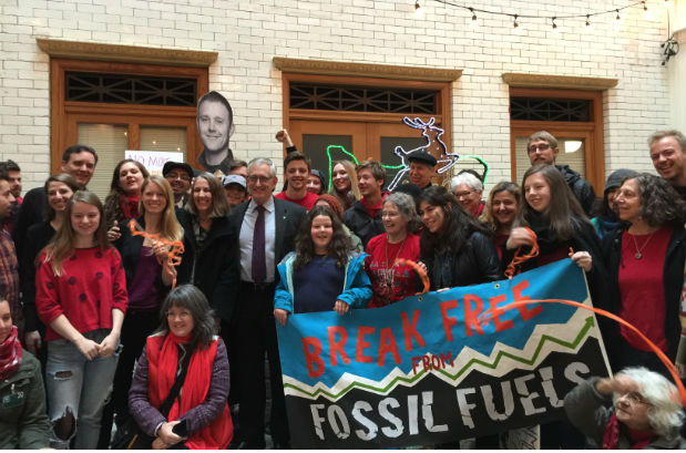Celebrating Portland's victory over new fossil fuel terminals