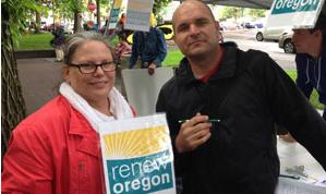 Renew Oregon canvassing