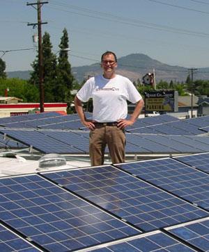 Rogue Creamery solar roof