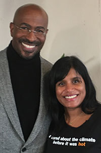 Savitha with Van Jones