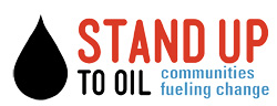 Stand Up to Oil logo