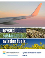 Toward Sustainable Aviation Fuels report cover