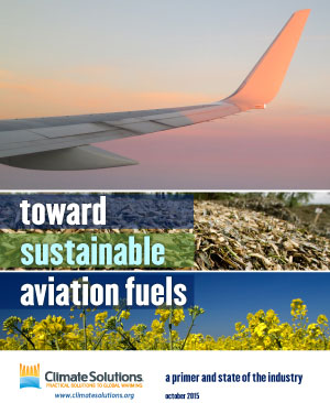 Toward Sustainable Aviation Fuels cover