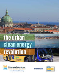 Urban Clean Energy Revolution report cover