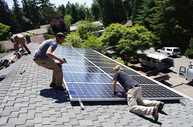 Solar installation via itek and Western Solar, WA